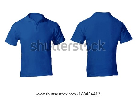 Polo Shirt Front and Back