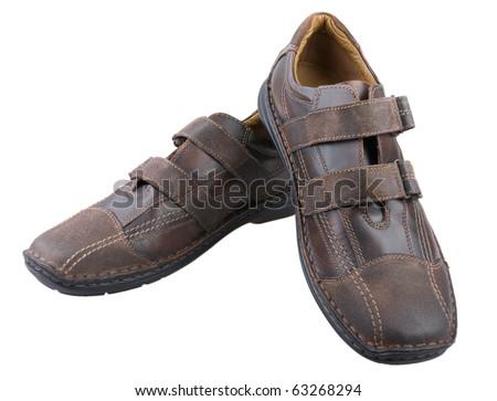 Men's casual shoes.