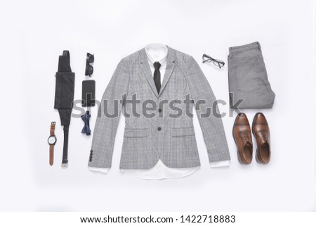 Men's casual outfits with brown leather shoes and