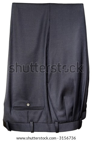 Men's pants (with clipping path)