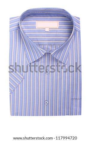 Men's shirt - stock photo