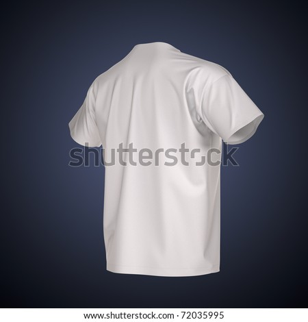 Men's T-shirt Isolated with clipping path. Clothing collection