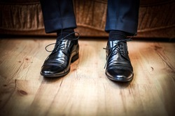 Men shoes. Fashion. Wedding.