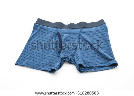 men underwear isolated on white background #518280583