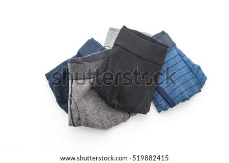 men underwear isolated on white background #519882415