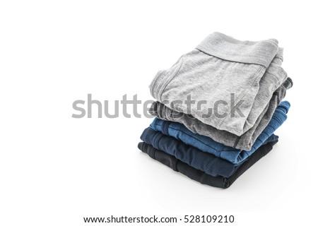 men underwear isolated on white background #528109210
