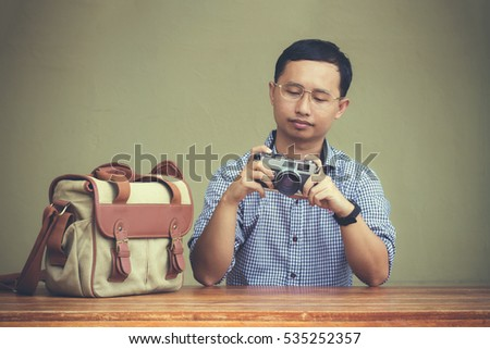 men who love to use film...