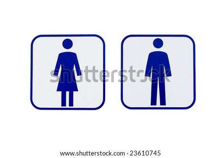 men women sign