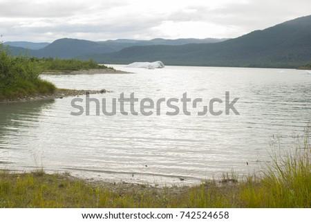 mendenhall lake  juneau