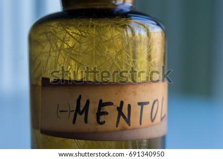 Menthol crystals #691340950