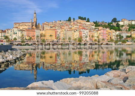 Menton,french Riviera,South of France