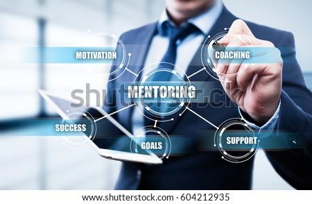 Mentoring Business Motivation Coaching  Success Career concept