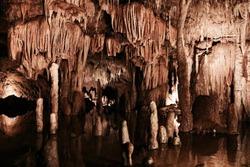 Meramec Caverns in Missouri
