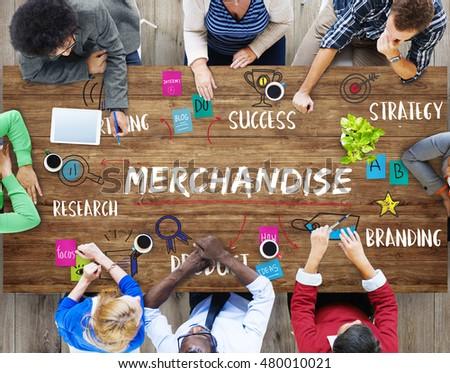 Merchandise Business Goal Investment Plan Concept