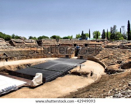 Merida amphitheater