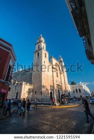 Merida Cathedral in Merida, Mexico #1221595594