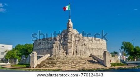 Merida, the capital and largest city of the Mexican state of Yucatan.