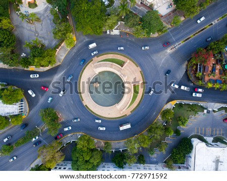 Merida view from above