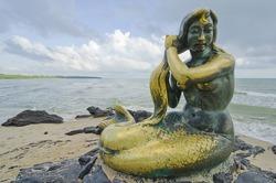 Mermaid by the sea