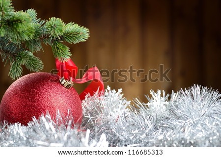 Merry Christmas and Happy New Year #116685313