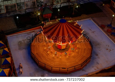 merry go round from above ...