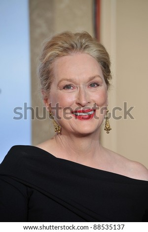 Meryl Streep at the 67th Golden Globe Awards at the Beverly Hilton Hotel. January 17, 2010  Beverly Hills, CA Picture: Paul Smith / Featureflash