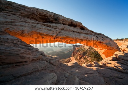 Mesa Arch Sunrise South