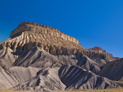Mesa Rising Above the desert, Grand Junction, Colorado