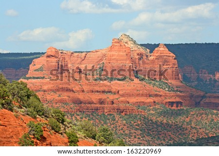 Mesa Rock - Sedona , Arizona