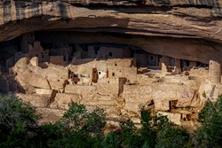 Mesa Verde National Park, Colorado, USA: the Anasazi ruined which is around 800 years old.