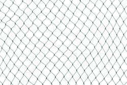 Mesh isolated on white background,net pattern,commercial fishing nets