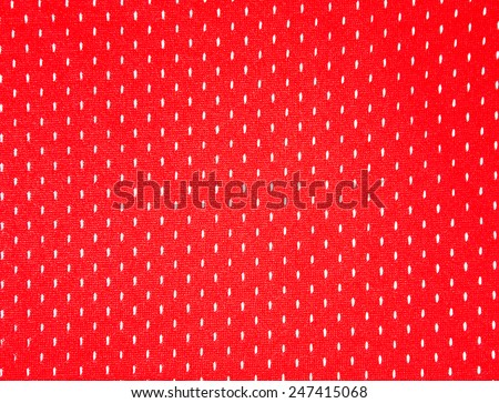 Mesh old basketball jerseys red color
