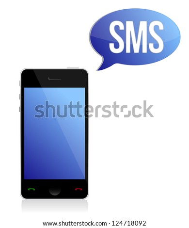 Message,Telephone sign illustration design over a white background