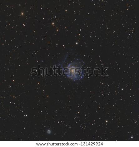 Messier 101 or the Pinwheel Galaxy