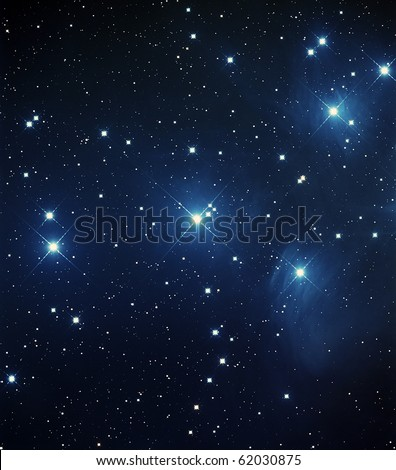 Messier 45, The Pleiades Star Cluster