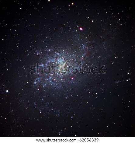 MESSIER 33, The Triangulum Galaxy