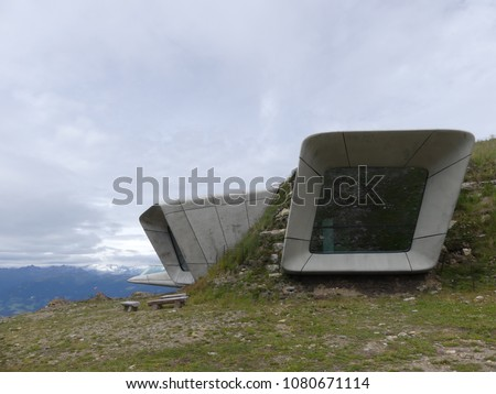 Messner Mountain Museum Plan de Corones Sudtirol Italy by Zaha Hadid Architects