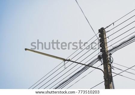 Free photos Messy electrical cables and wires on electric pole ...