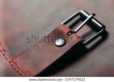 metal accessories for leather accessories are always in fashion