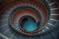Metal alloy Spiral staircase