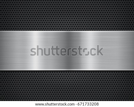 metal background, polished metal texture
