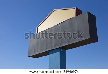 Metal Billboard Sign
