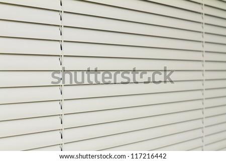 Metal Blinds with drawstring. Roller Shutter Background #117216442