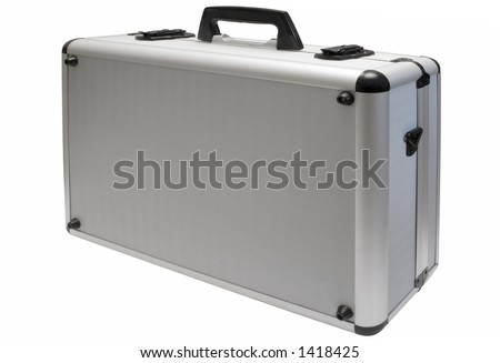 Metal Briefcase w/ Path