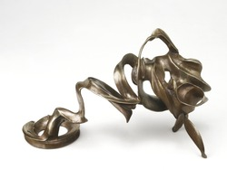 Metal bronze sculpture from korea