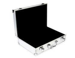 Metal Case on white background