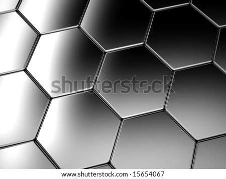 Metal cells background