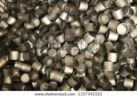 Metal consistency supplier stainless steel Mass production manufacturing for big volume capacity over demand supply leftover stock crisis to loss  consumption and industrial factory development