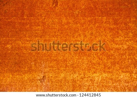 metal corroded texture. rust metall, orange color
