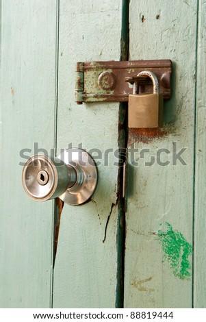Metal  Door Knob Open House